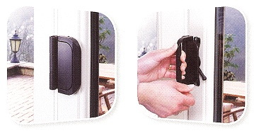 D-Handle, allows doors to fold back flatter